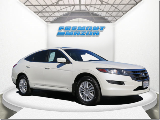 2012 HONDA CROSSTOUR SPORT UTILITY EX-L white 35l v6 sohc i-vtec 24v automatic leather  power