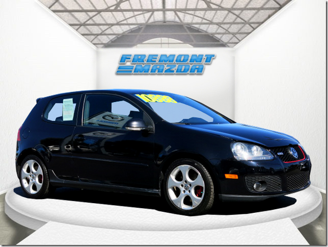 2008 VOLKSWAGEN GTI GTI black 20l 4 cylinder turbo  automatic power windows  tilt wheel  am