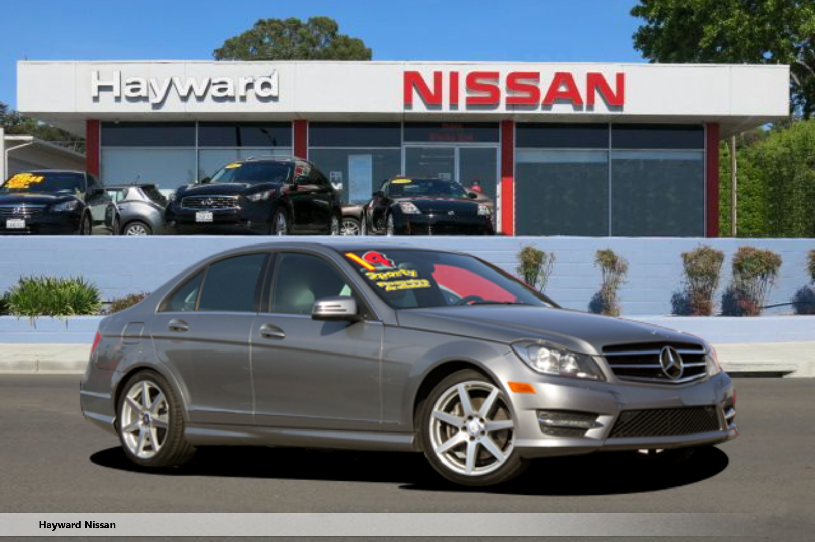 2014 MERCEDES-BENZ C-CLASS C 300 4MATIC LUXURY SEDAN silver v6 35 liter automatic cdmp3 mult