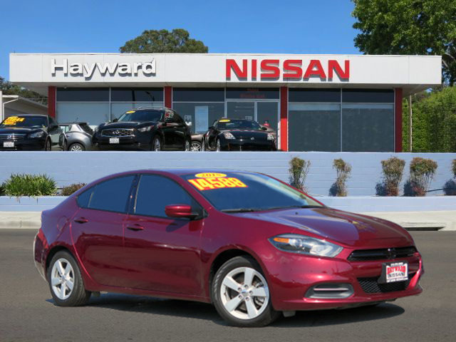 2015 DODGE DART SXT SEDAN maroon 4-cyl mltar tgrshrk 24l automatic sxt package very sharp and