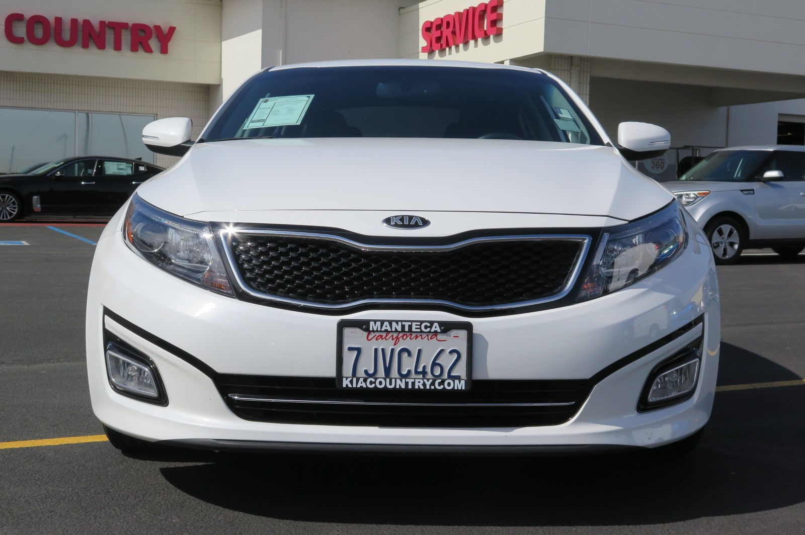 2014 KIA OPTIMA SX SEDAN white black 4-cyl 24 liter automatic certified    siriusxm satelli