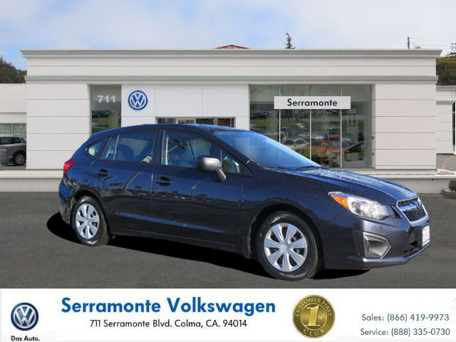 2012 SUBARU IMPREZA 20I WAGON 4-cyl pzev 20 liter automatic certified    power windows  am