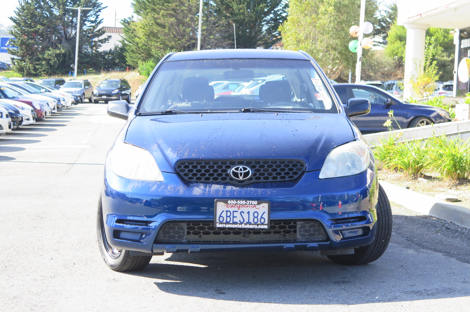 2004 TOYOTA MATRIX SPORT WAGON blue 4-cyl 18 liter automatic check out our 1 owner 2004 matrix