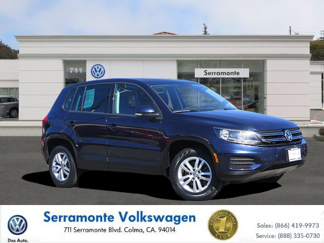 2013 VOLKSWAGEN TIGUAN 20T SE SPORT UTILITY blue 4-cyl turbo 20 liter automatic check out our