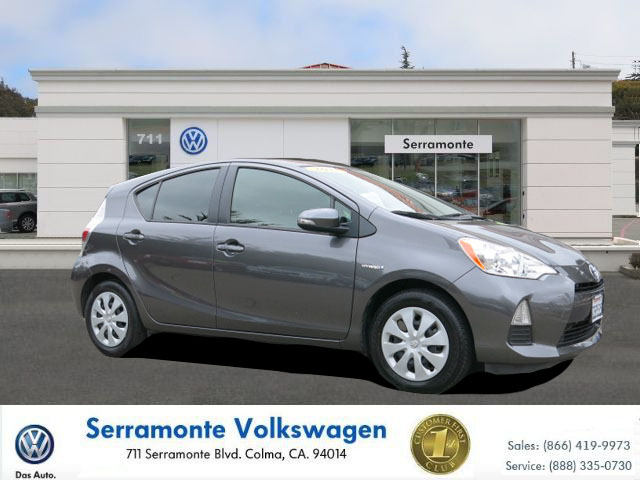 2013 TOYOTA PRIUS C C 5D HATCHBACK gray 15l 4-cylinder atkinson-cycle vvt-i automatic fwd  po