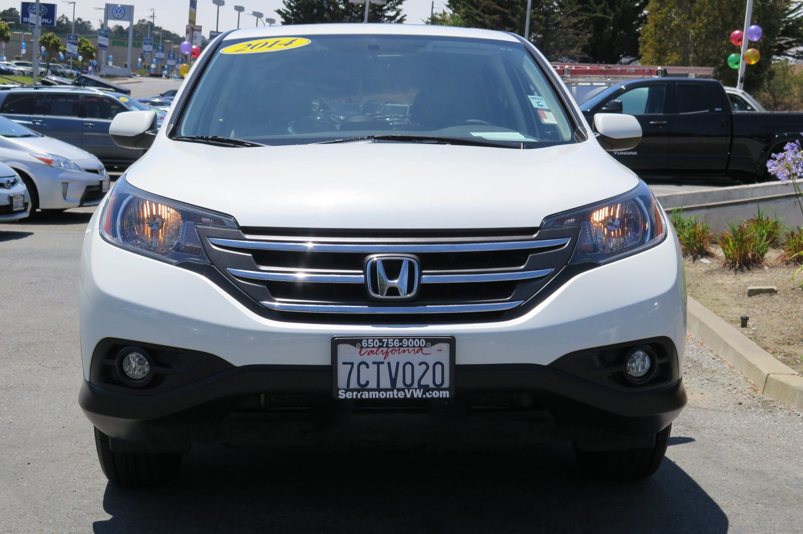 2014 HONDA CR-V CR-V white 24l inline 4 automatic check out our 2014 cr v  this california ho