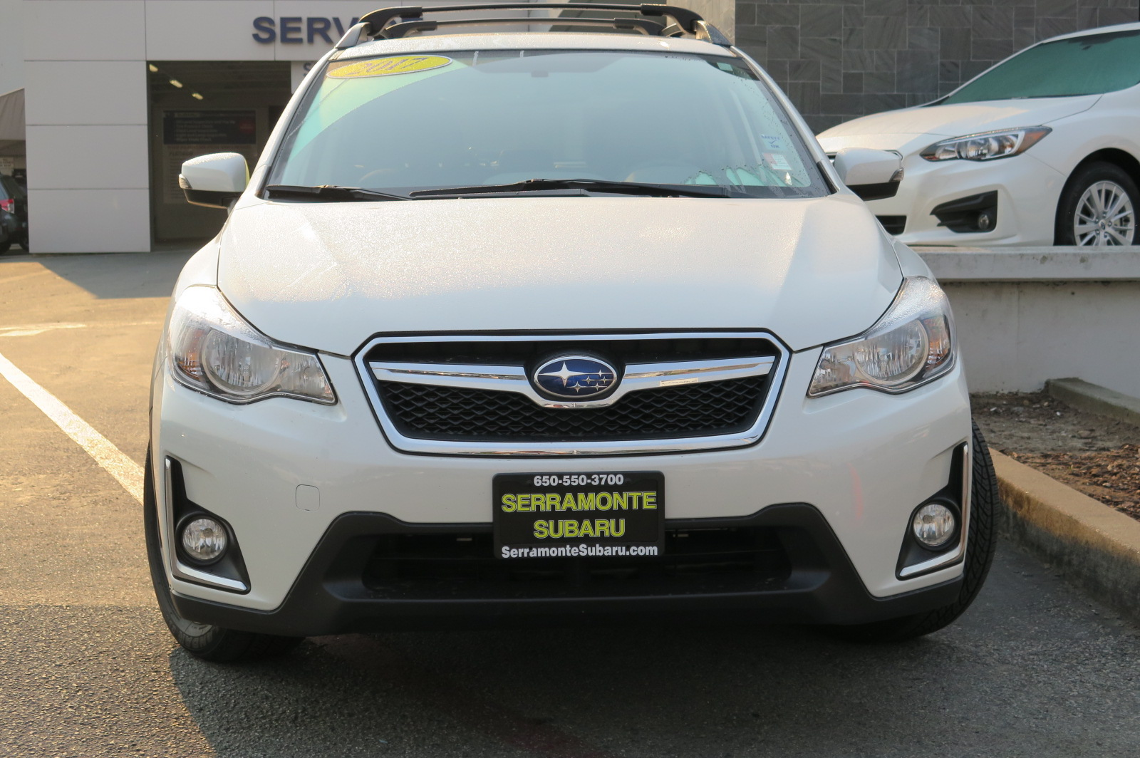 2017 SUBARU CROSSTREK 20I LIMITED SPORT UTILITY white 4-cyl pzev 20 liter automatic check out