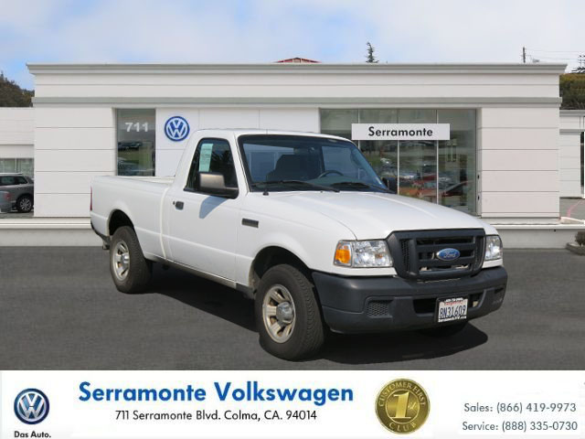 2007 FORD RANGER RANGER white 23l manual california car must see  well maintained  one owne