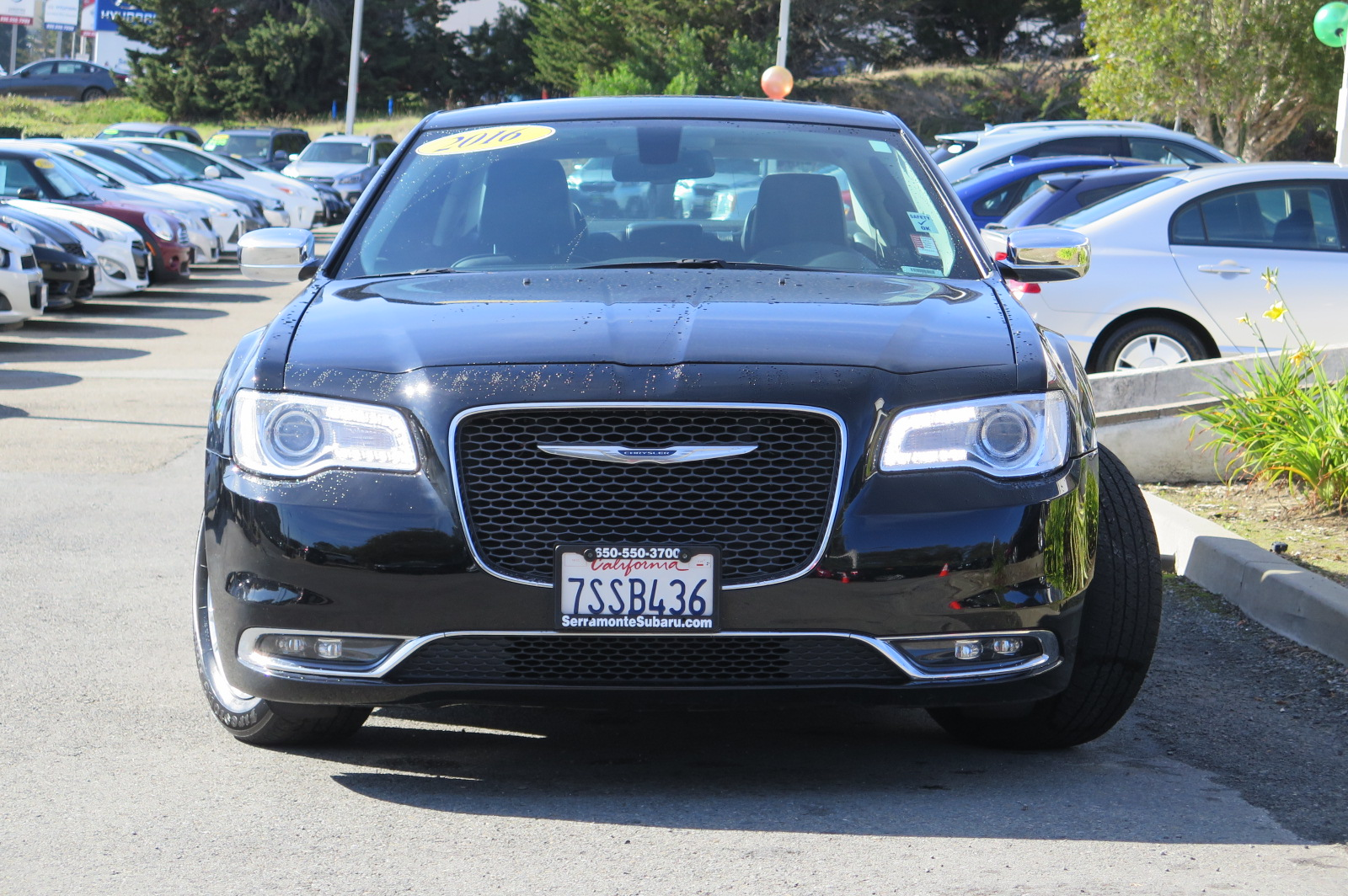 2016 CHRYSLER 300 300C SEDAN black v6 36 liter automatic check out our 1 owner 16 300c  this