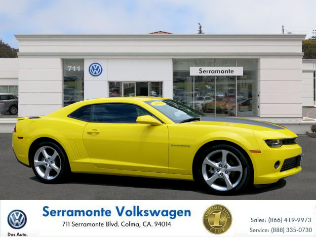 2014 CHEVROLET CAMARO COUPE 2D RS yellow 62l v8 sfi automatic must see  well maintained  one