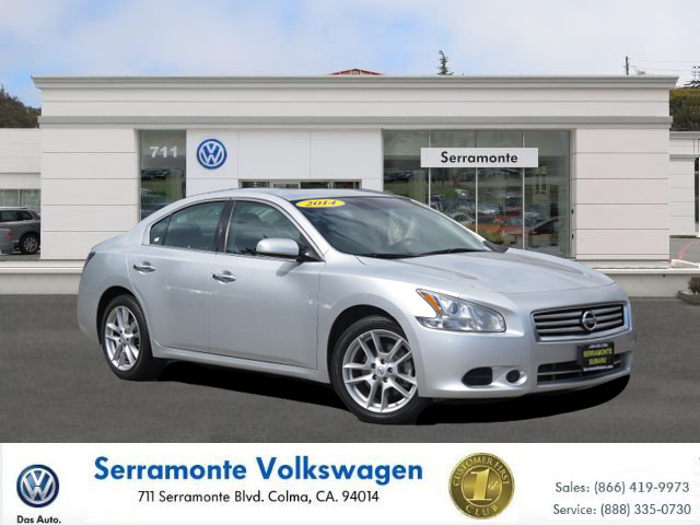 2014 NISSAN MAXIMA S SEDAN silver v6 35 liter automatic check out our 2014 maxima s  this nis