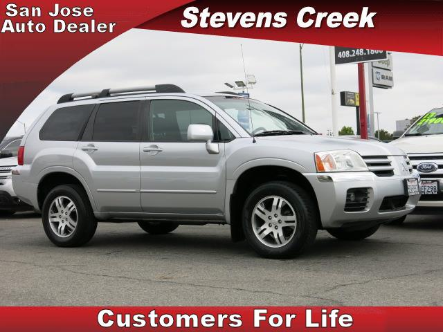 2004 MITSUBISHI ENDEAVOR ENDEAVOR silver v6 38 liter automatic power windows  tilt wheel  am