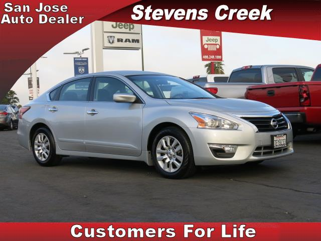 2014 NISSAN ALTIMA S silver 4-cyl 25 liter automatic power windows  tilt wheel  amfm stereo