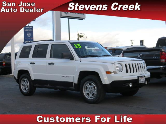 2013 JEEP PATRIOT PATRIOT white 24l i4 dohc 16v dual vvt manual folding side mirrors  tilt wh