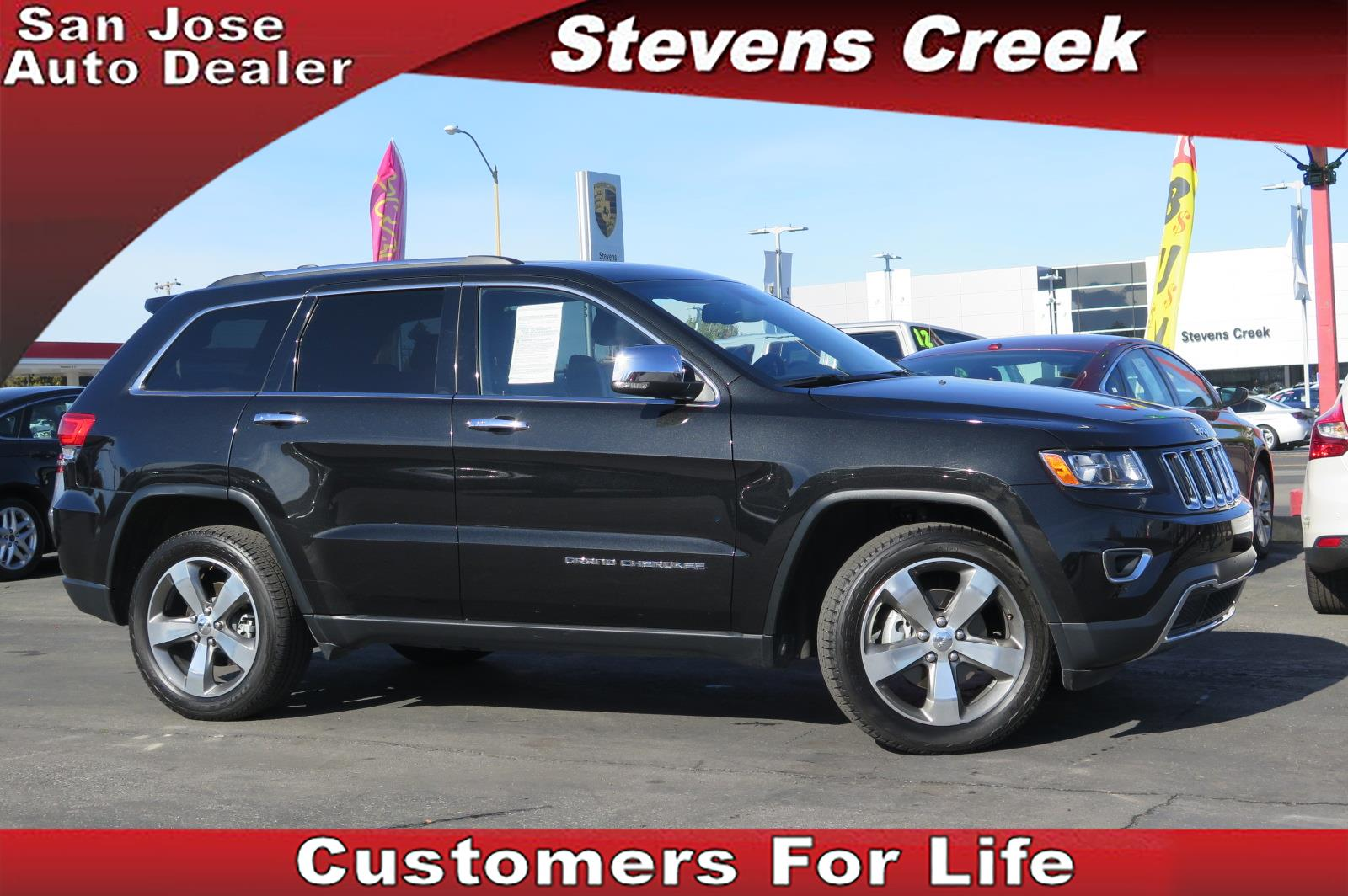 2014 JEEP GRAND CHEROKEE CHEROKEE LIMITED black 36l v6 automatic retained accessory power  re