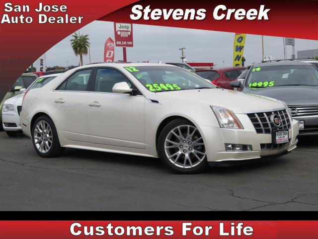 2012 CADILLAC CTS CTS white 36l v6 automatic emergency service  retained accessory power  po