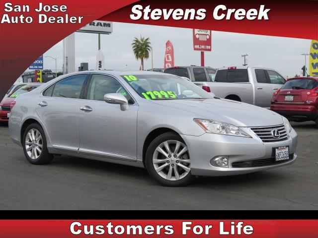 2010 LEXUS ES 350 350 silver 35l v6 automatic emergency service  retained accessory power  p