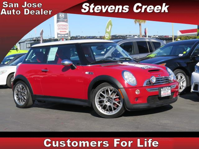 2004 MINI COOPER S S red 16l inline 4 manual retained accessory power  rear wiper  power win