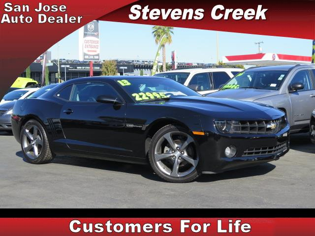2013 CHEVROLET CAMARO RS black v6 36 liter automatic emergency service  retained accessory po
