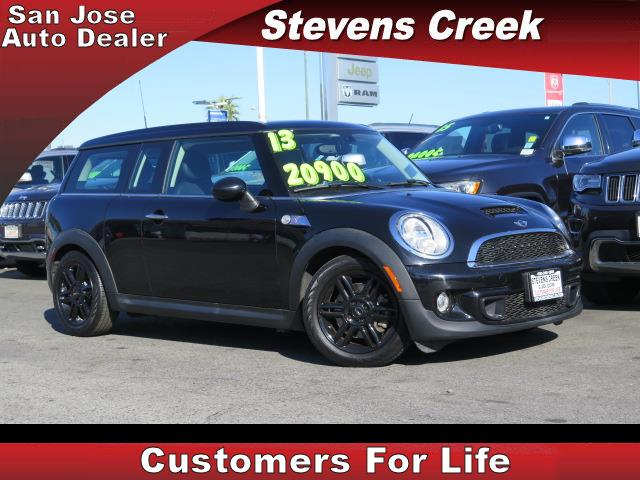 2013 MINI COOPER CLUBMAN CLUBMAN S black 16l 4 cylinder automatic retained accessory power  r