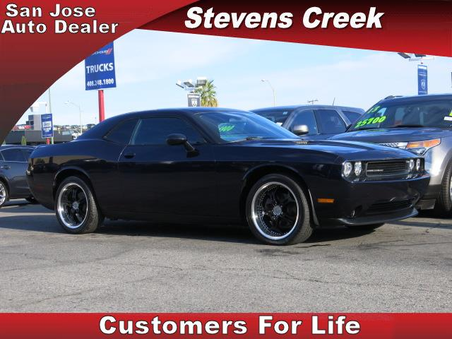 2011 DODGE CHALLENGER CHALLENGER blue 36l 6 cylinder automatic folding side mirrors  power wi