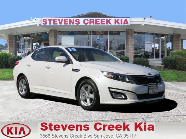 2015 KIA OPTIMA LX white 24l 4-cyl engine automatic folding side mirrors  power windows  til