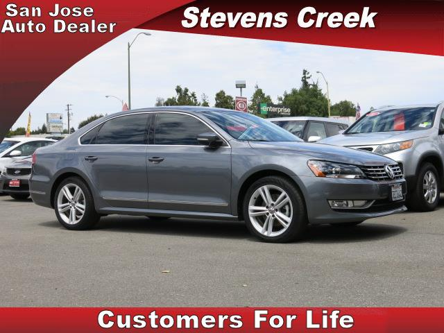 2014 VOLKSWAGEN PASSAT PASSAT gray engine 20l tdi clean diesel automatic folding side mirrors