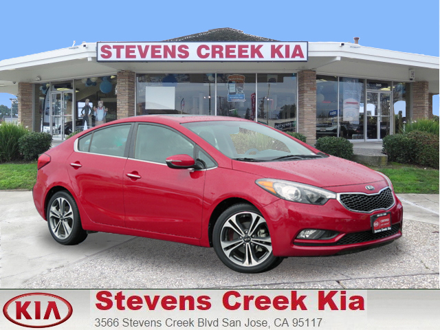 2015 KIA FORTE EX SEDAN red 4-cyl gdi 20 liter automatic certified    fwd  siriusxm satelli