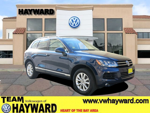 2013 VOLKSWAGEN TOUAREG SPORT UTILITY V6 blue v6 36 liter automatic power windows  power seat