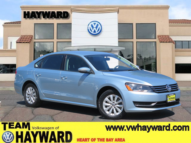 2012 VOLKSWAGEN PASSAT 25L S SEDAN blue 5-cyl pzev 25 liter automatic leased vehicle clean ca