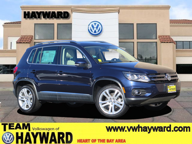 2016 VOLKSWAGEN TIGUAN 20T SEL SPORT UTILITY night blue 4-cyl turbo 20 liter automatic certif