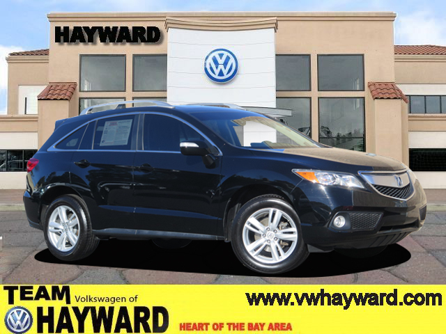 2013 ACURA RDX SPORT UTILITY v6 35 liter automatic fwd  leather  power windows  power liftga