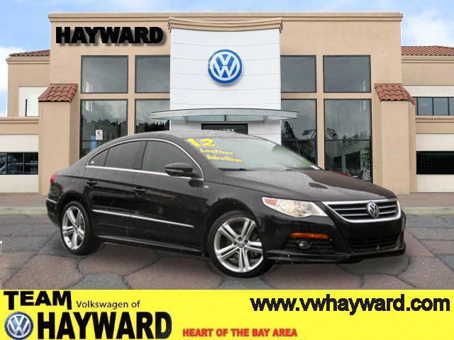 2012 VOLKSWAGEN CC R-LINE SEDAN black  4-cyl turbo pzev 20 liter automatic fwd  power windows