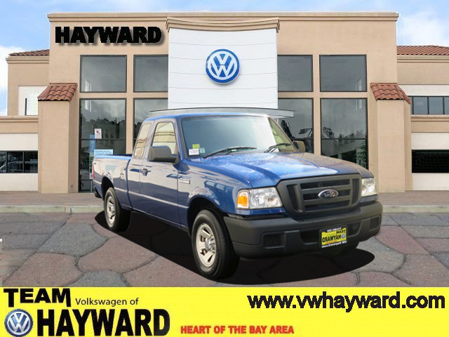 2007 FORD RANGER XLT blue 30l v6 ohv automatic amfm stereo  cd player  cloth seating  aux