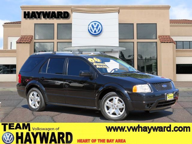 2006 FORD FREESTYLE LIMITED SPORT UTILITY black v6 30 liter automatic perfect family car loade