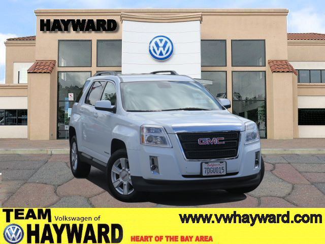 2013 GMC TERRAIN SLE-2 SPORT UTILITY white 4-cyl 24 liter automatic best selling mid size suv