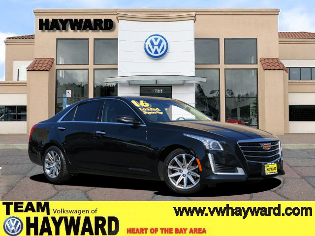 2016 CADILLAC CTS 20 LUXURY COLLECTION SEDAN black 4-cyl turbo 20 liter automatic siriusxm sa