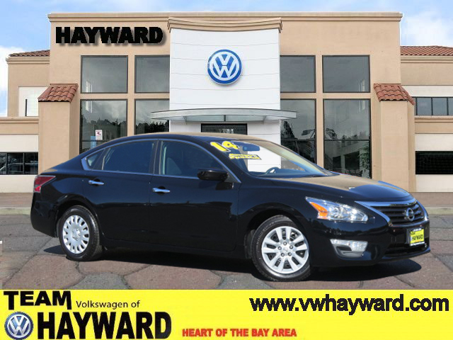 2014 NISSAN ALTIMA 25 S SEDAN black 4-cyl 25 liter automatic fwd  power windows  tilt wheel